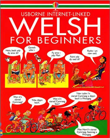 کتاب مصور آموزش مبتدی زبان ولزی Welsh For beginners