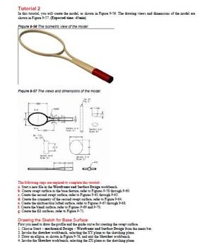 راهنمای ترسیم سه بعدی راکت تنیس در محیط CATIA