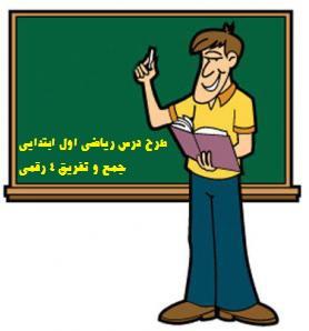 دانلود طرح درس ریاضی سوم - آموزش جمع و تفریق اعداد 4 رقمی