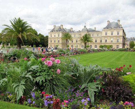 پاورپوینت باغ سازی اروپایی