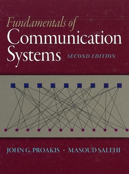 کتاب و حل تمرین FUNDAMENTALS OF COMMUNICATION SYSTEMS