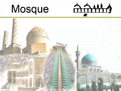 پروژه پاورپوینت نوع معماری مساجد در سبک های گوناگون