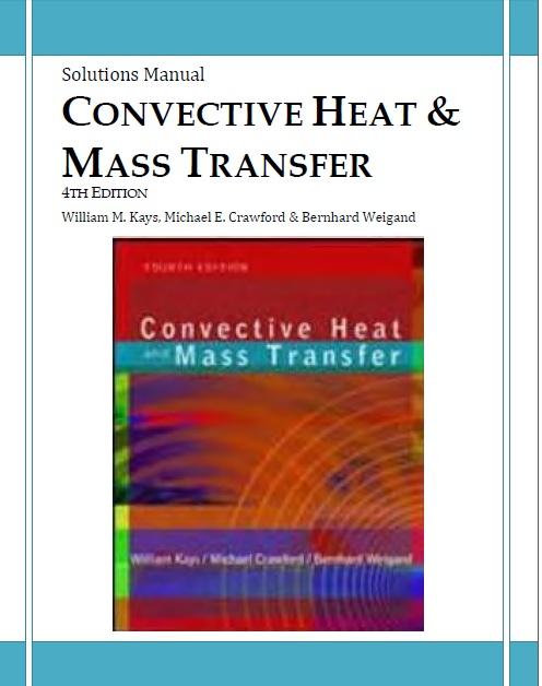 حل المسائل انتقال حرارت kays