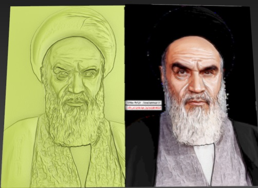 طرح cnc امام خمینی