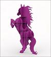 طرح اتوکد سه بعدی اسب