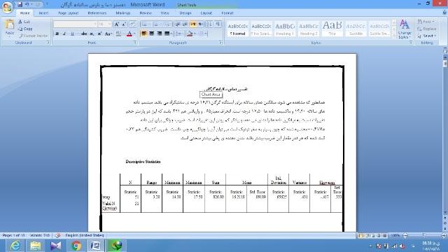پروژه تفسیر اقلیمی شهر گرگان