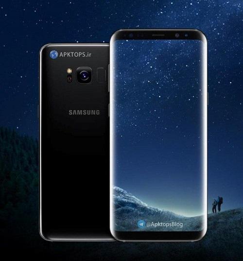 والپیپر های استوک گوشی Samsung Galaxy S8 و +S8