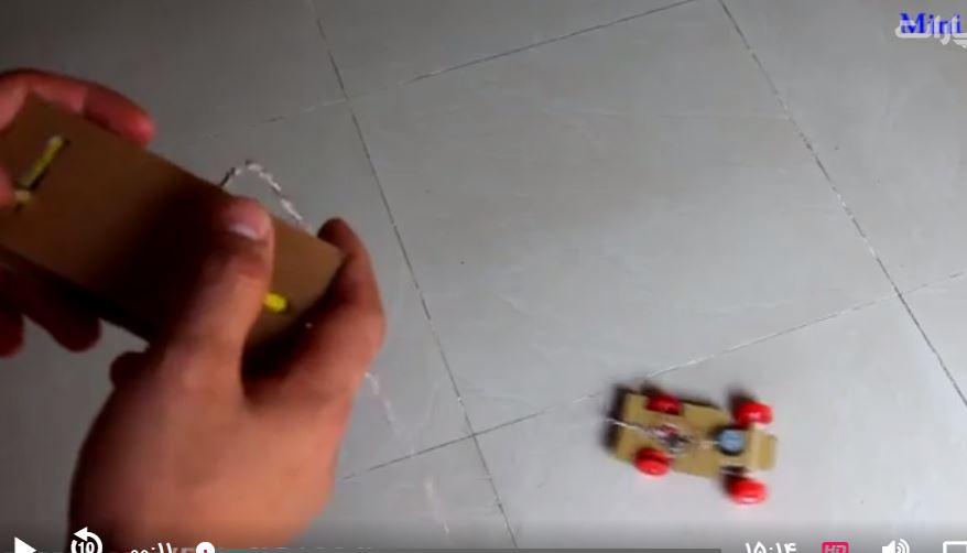 فیلم آموزشی   چگونه ماشین کنترلی بسازیم ببین نصفه تو8