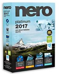 دانلود Nero 2017 Platinum v18.0.08400 + Content Pack - مجموعه ابزارهای نرو به همراه رایت فایلهای ایزو
