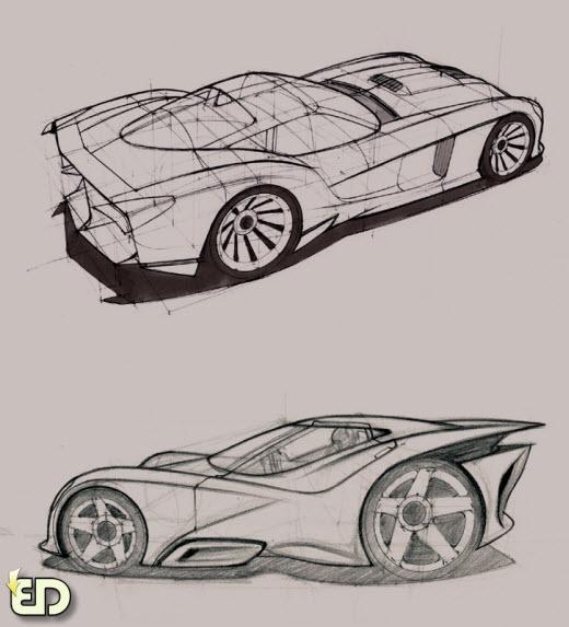 فیلم آموزشی طراحی خودرو