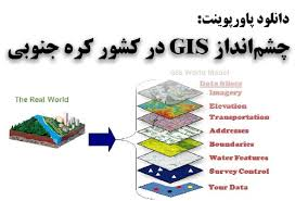 پاورپوینت چشم انداز GIS در کشور کره جنوبی