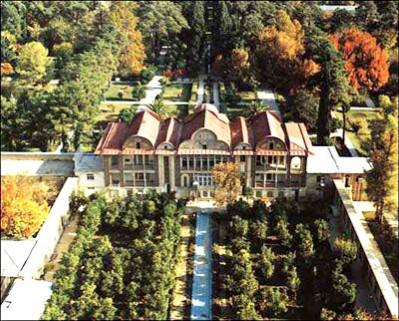 پاورپوینت آشنایی با معماری باغ های ایرانی