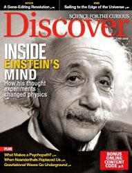 مجله علمی Discover June 2016