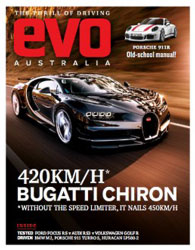 مجله نقد و بررسی اتومبیل Evo Australia April 2016