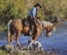 105 مدل نقاشی رنگ و روغن از غرب وحشی
