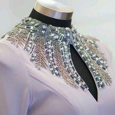 138 مدل زیبای تزیین لباس مجلسی