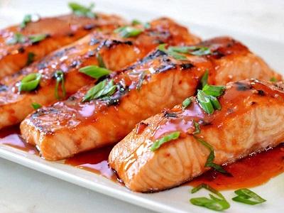 2 مدل غذای اروپایی با ماهی