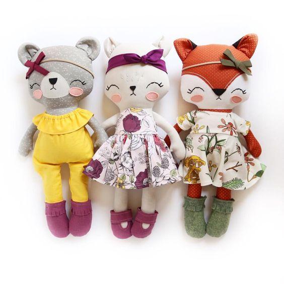 102 مدل عروسک پارچه ای خارجی