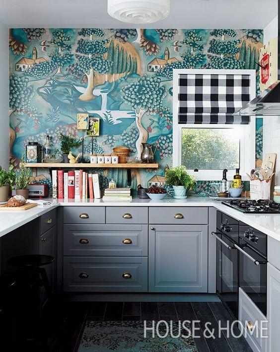 77 تصویر از دکوراسیون آشپزخانه