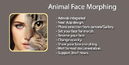 سورس کد ترکیب چهره با حیوانات
