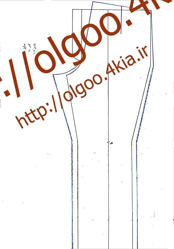 الگو شلوار سایز 44