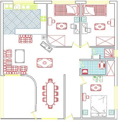 پروژه تاسیساتی واحد مسکونی از نظر الکتریکی