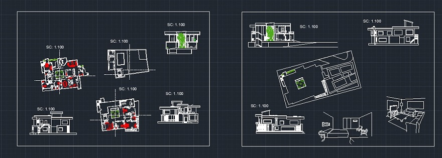 پروژه طرح ویلای مسکونی
