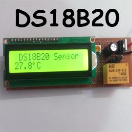 راه اندازی سنسور دما ds18b20