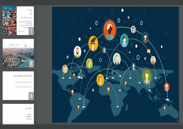 دانلود پاورپوینت آینده شهر و جهانی شدن