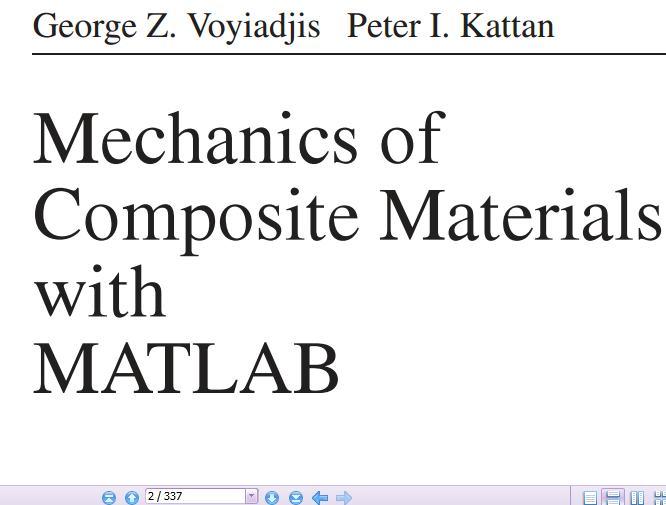 کتاب بسیار کاربردی آموزش حل مسائل و تعریف کامپوزیتها در برنامه MATLAB