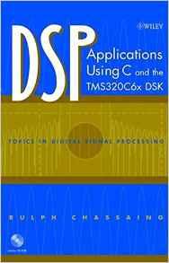 کاربردهای DSP با استفاده از C
