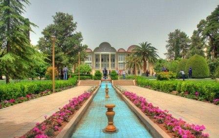 دانلود پاورپوینت باغ ارم شیراز