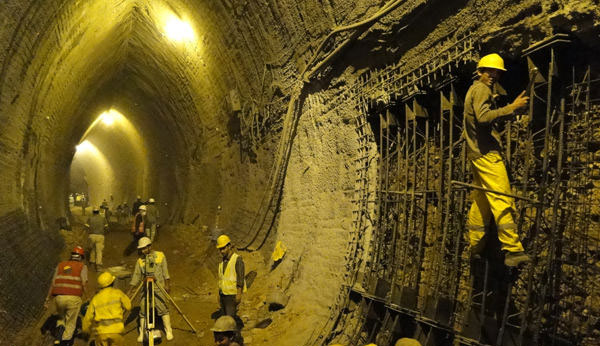دانلود پاورپوینت ایمنی در تونلها