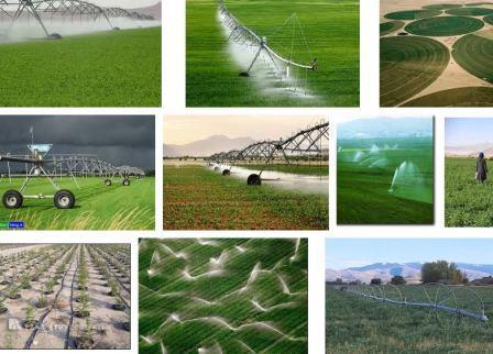 دانلود تحقیق آبیاری قطرهای و بارانی