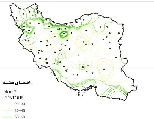 دانلود جزوه آموزش ساخت نقشههای اقلیمی با نرم افزار ArcGIS