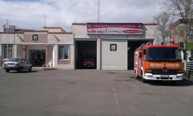 دانلود پاورپوینت تاسیسات و تجهیزات شهری با موضوع مکانیابی ایستگاههای آتشنشانی