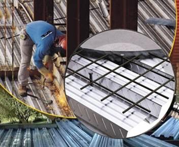 دانلود پاورپوینت انواع سقفهای کامپوزیت