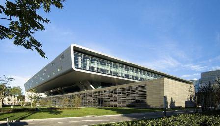 دانلود پاورپوینت معماری کتابخانه ملی چین