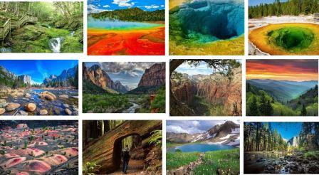 دانلود پاورپوینت پارکهای ملی آمریکا