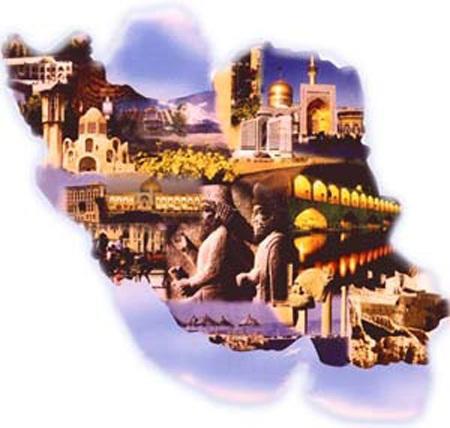 دانلود پاورپوینت جاذبههای تاریخی گردشگری ایران