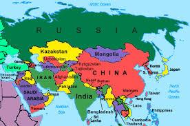 دانلود پاورپوینت آشنایی با جغرافیای قاره آسیا