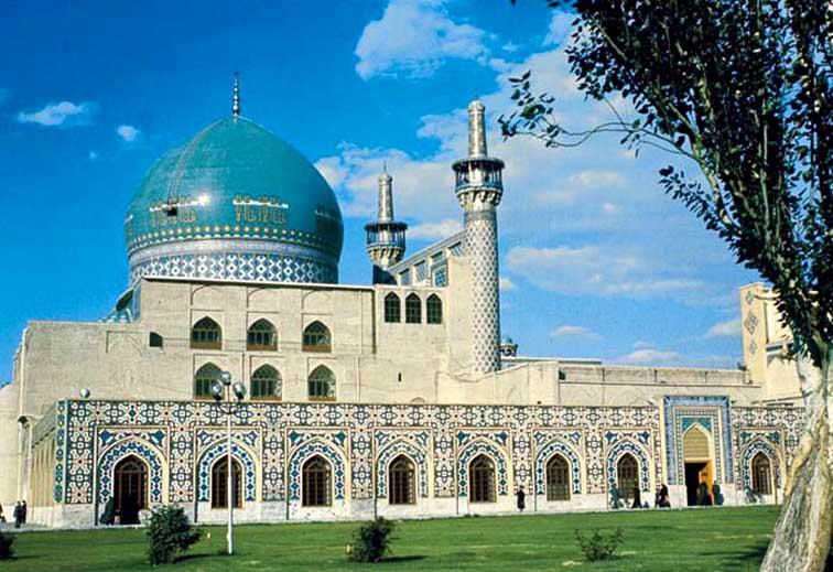 دانلود پاورپوینت تحلیل و بررسی مسجد جامع گوهرشاد مشهد