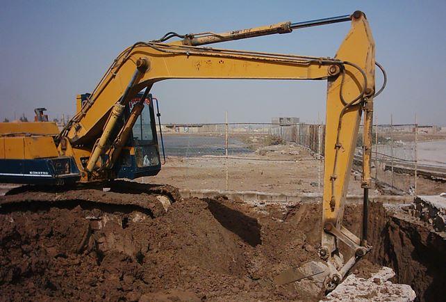 دانلود پاورپوینت پروژه مواد و مصالح ساختمانی با موضوع خاکبرداری
