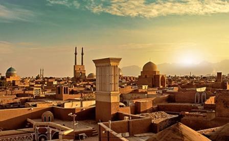 دانلود پاورپوینت اطلاعات جغرافیایی و اقلیمی شهر یزد