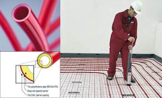 دانلود پروژه درس تاسیسات ساختمان با موضوع سیستم گرمایش از کف