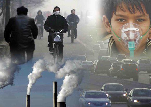 دانلود پاورپوینت آلودگی هوا