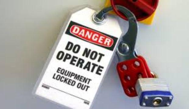 دانلود پاورپوینت سیستم قفل و برچسب(Lock Out - Tag Out)