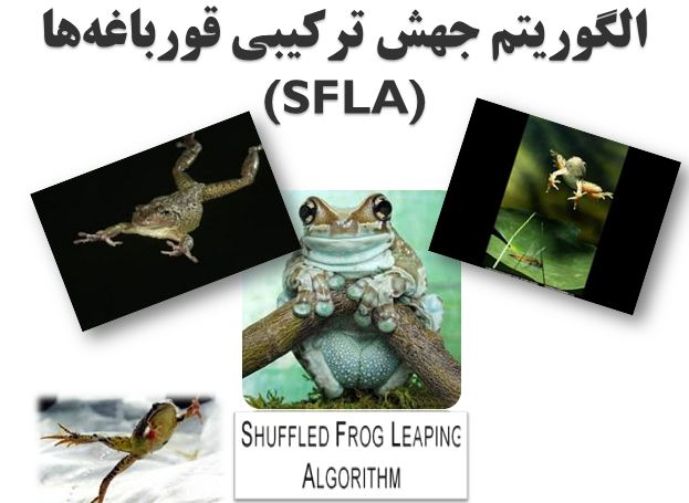 دانلود پاورپوینت الگوريتم جهش ترکیبی قورباغهها(SFLA)