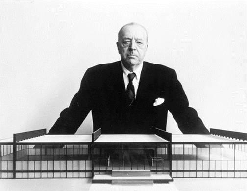دانلود پاورپوینت زندگی و آثار معماری میس ون در روهه(Ludwig Mies van der Rohe)