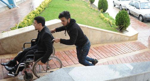 دانلود پاورپوینت ضوابط و مقررات شهرسازی برای افراد معلول جسمی حرکتی